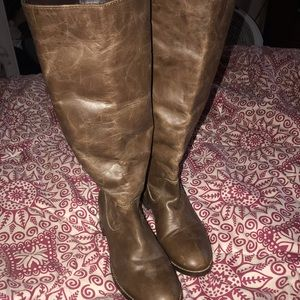 Riding Boots all leather unworn Urban outfitters